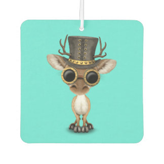 Cute Steampunk Baby Deer Air Freshener