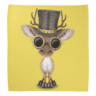 Cute Steampunk Baby Deer Bandanna