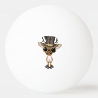 Cute Steampunk Baby Deer Ping Pong Ball