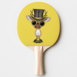 Cute Steampunk Baby Deer Ping Pong Paddle