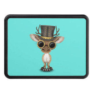 Cute Steampunk Baby Deer Trailer Hitch Covers