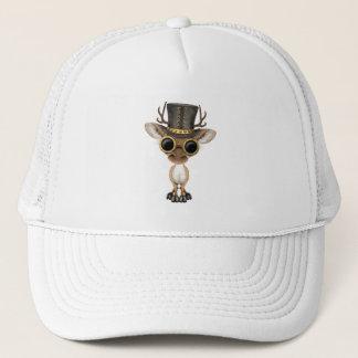Cute Steampunk Baby Deer Trucker Hat