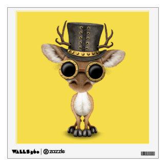 Cute Steampunk Baby Deer Wall Decal