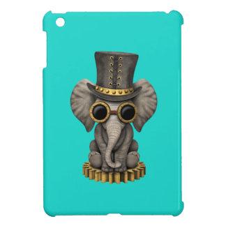 Cute Steampunk Baby Elephant Cub iPad Mini Cover