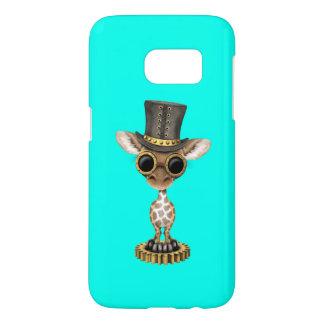 Cute Steampunk Baby Giraffe Samsung Galaxy S7 Case