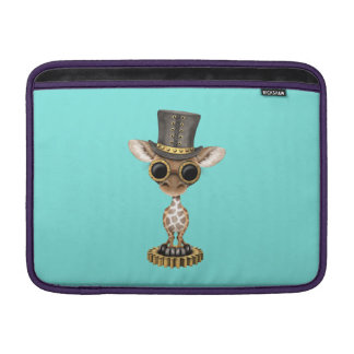 Cute Steampunk Baby Giraffe Sleeve For MacBook Air