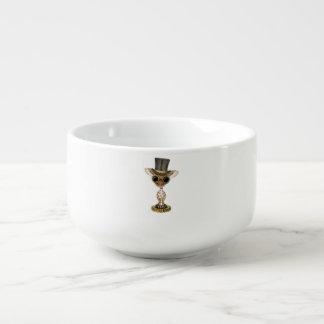 Cute Steampunk Baby Giraffe Soup Mug