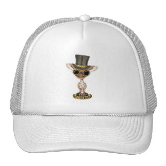 Cute Steampunk Baby Giraffe Trucker Hat