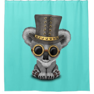 Cute Steampunk Baby Koala Bear