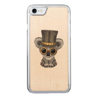 Cute Steampunk Baby Koala Bear Carved iPhone 8/7 Case