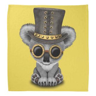 Cute Steampunk Baby Koala Bear Head Kerchiefs