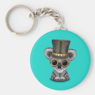 Cute Steampunk Baby Koala Bear Keychain
