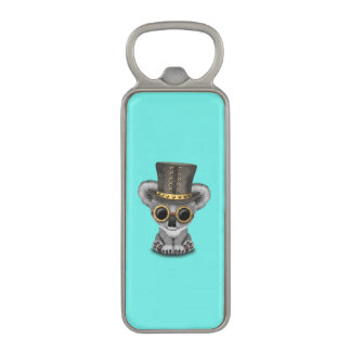 Cute Steampunk Baby Koala Bear Magnetic Bottle Opener