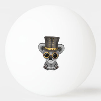 Cute Steampunk Baby Koala Bear Ping Pong Ball