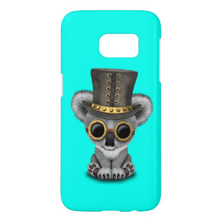 Cute Steampunk Baby Koala Bear Samsung Galaxy S7 Case