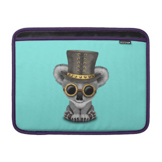 Cute Steampunk Baby Koala Bear Sleeve For MacBook Air