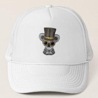 Cute Steampunk Baby Koala Bear Trucker Hat