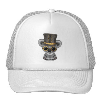Cute Steampunk Baby Koala Bear Trucker Hat
