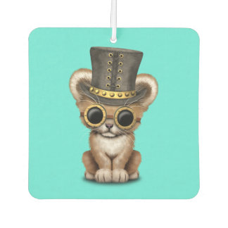Cute Steampunk Baby Lion Cub Air Freshener