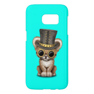 Cute Steampunk Baby Lion Cub Samsung Galaxy S7 Case