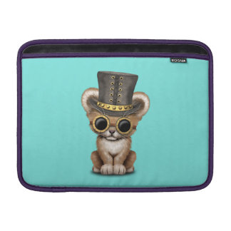 Cute Steampunk Baby Lion Cub Sleeve For MacBook Air