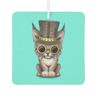 Cute Steampunk Baby Lynx Cub Air Freshener