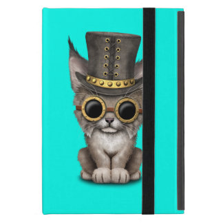 Cute Steampunk Baby Lynx Cub Case For iPad Mini