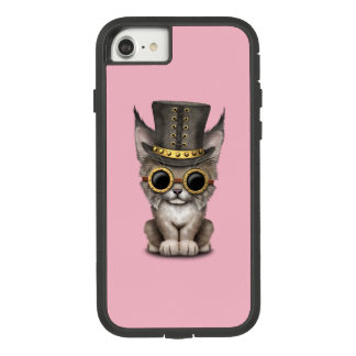 Cute Steampunk Baby Lynx Cub Case-Mate Tough Extreme iPhone 8/7 Case