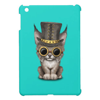 Cute Steampunk Baby Lynx Cub iPad Mini Cover