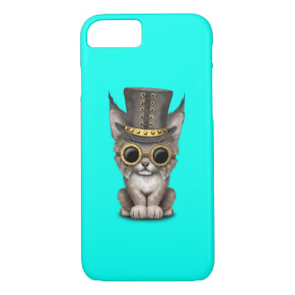 Cute Steampunk Baby Lynx Cub iPhone 7 Case