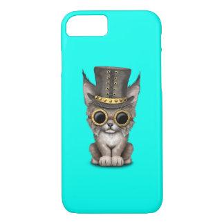 Cute Steampunk Baby Lynx Cub iPhone 8/7 Case