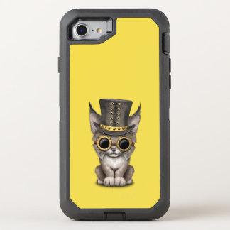 Cute Steampunk Baby Lynx Cub OtterBox Defender iPhone 8/7 Case