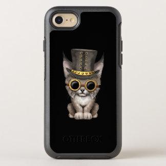 Cute Steampunk Baby Lynx Cub OtterBox Symmetry iPhone 8/7 Case