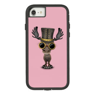 Cute Steampunk Baby Moose Case-Mate Tough Extreme iPhone 8/7 Case