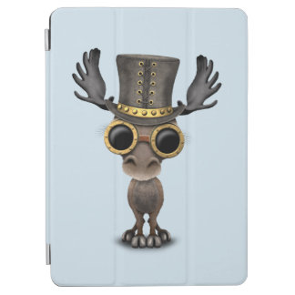 Cute Steampunk Baby Moose iPad Air Cover