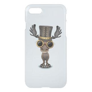 Cute Steampunk Baby Moose iPhone 8/7 Case