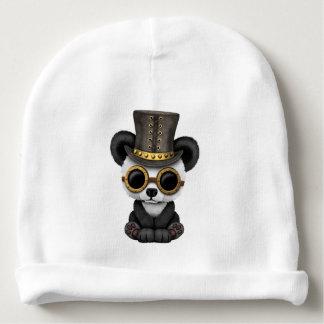 Cute Steampunk Baby Panda Bear Cub Baby Beanie
