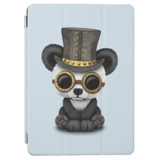Cute Steampunk Baby Panda Bear Cub iPad Air Cover