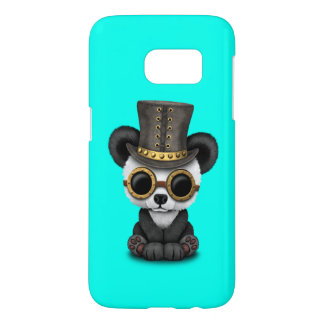 Cute Steampunk Baby Panda Bear Cub Samsung Galaxy S7 Case