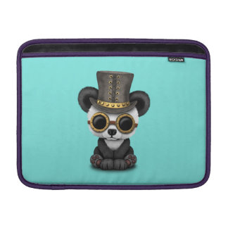 Cute Steampunk Baby Panda Bear Cub Sleeve For MacBook Air