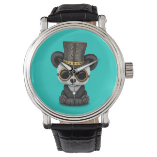 Cute Steampunk Baby Panda Bear Cub Watch