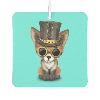 Cute Steampunk Baby Red Fox Air Freshener