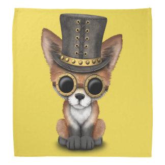 Cute Steampunk Baby Red Fox Head Kerchief