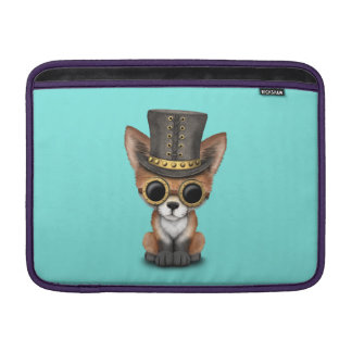 Cute Steampunk Baby Red Fox Sleeve For MacBook Air