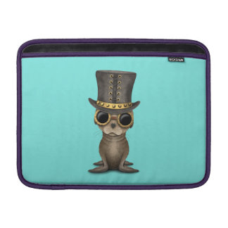 Cute Steampunk Baby Sea Lion Sleeve For MacBook Air