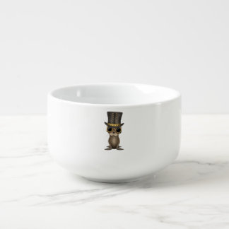 Cute Steampunk Baby Sea Lion Soup Mug