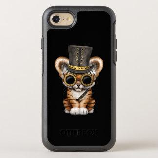 Cute Steampunk Baby Tiger Cub OtterBox Symmetry iPhone 8/7 Case