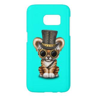 Cute Steampunk Baby Tiger Cub Samsung Galaxy S7 Case