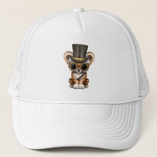 Cute Steampunk Baby Tiger Cub Trucker Hat