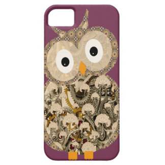 Cute Steampunk Owl iPhone 5 covers